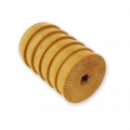 Wooden texture  rolls for polymer clay 60x39mm grooves