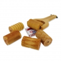 Wooden texture  rolls for polymer clay 60x39mm Small grooves