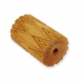 Wooden texture  rolls for polymer clay 60x39mm diamond
