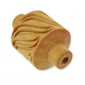 Wooden texture  rolls for polymer clay 32x38 mm wide rope