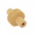 Wooden texture  rolls for polymer clay 15x38 mm grid