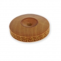 Wooden texture  rolls for polymer clay 8x53 mm greek