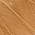 Linhasita wax thread bobbin for micro macramé 1 mm Straw x180m