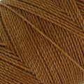 Linhasita wax thread bobbin for micro macramé 1 mm Old Gold x180m