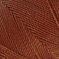 Linhasita wax thread bobbin for micro macramé 1 mm Old Copper x180m