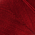 Linhasita wax thread bobbin for micro macramé 1 mm Dark Red x180m