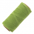 Linhasita wax thread bobbin for micro macramé 1 mm Lime Green x180m