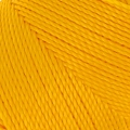Linhasita wax thread bobbin for micro macramé 1 mm Golden Yellow x180m