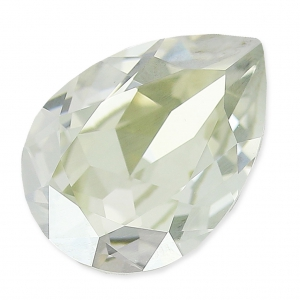 Swarovski 4320 Pear Fancy Stone 18x13mm Crystal Silver Shade x1