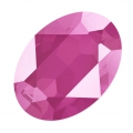 Swarovski 4120 Oval Fancy Stone 18x13mm Crystal Peony Pink x1