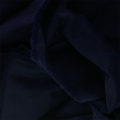Velvet fabric coupon Frou-Frou 140x80 cm Navy