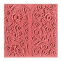 Clay Texture sheets Cernit 9 cm Flower wheels x1