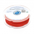 Griffin European Braided Nylon Thread 1.5mm Red  x20m