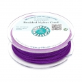 Griffin European Braided Nylon Thread 1.5mm Amethyst x20m