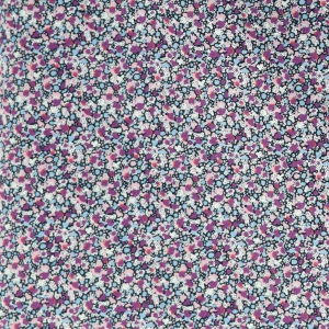Liberty fabric Tana Lawn quality - Pepper Violet x 10cm