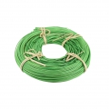 Rattan core of 125 g 2 mm for creative basketry Green