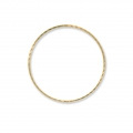 Element for beadweaving round fancy 38 mm nude brass