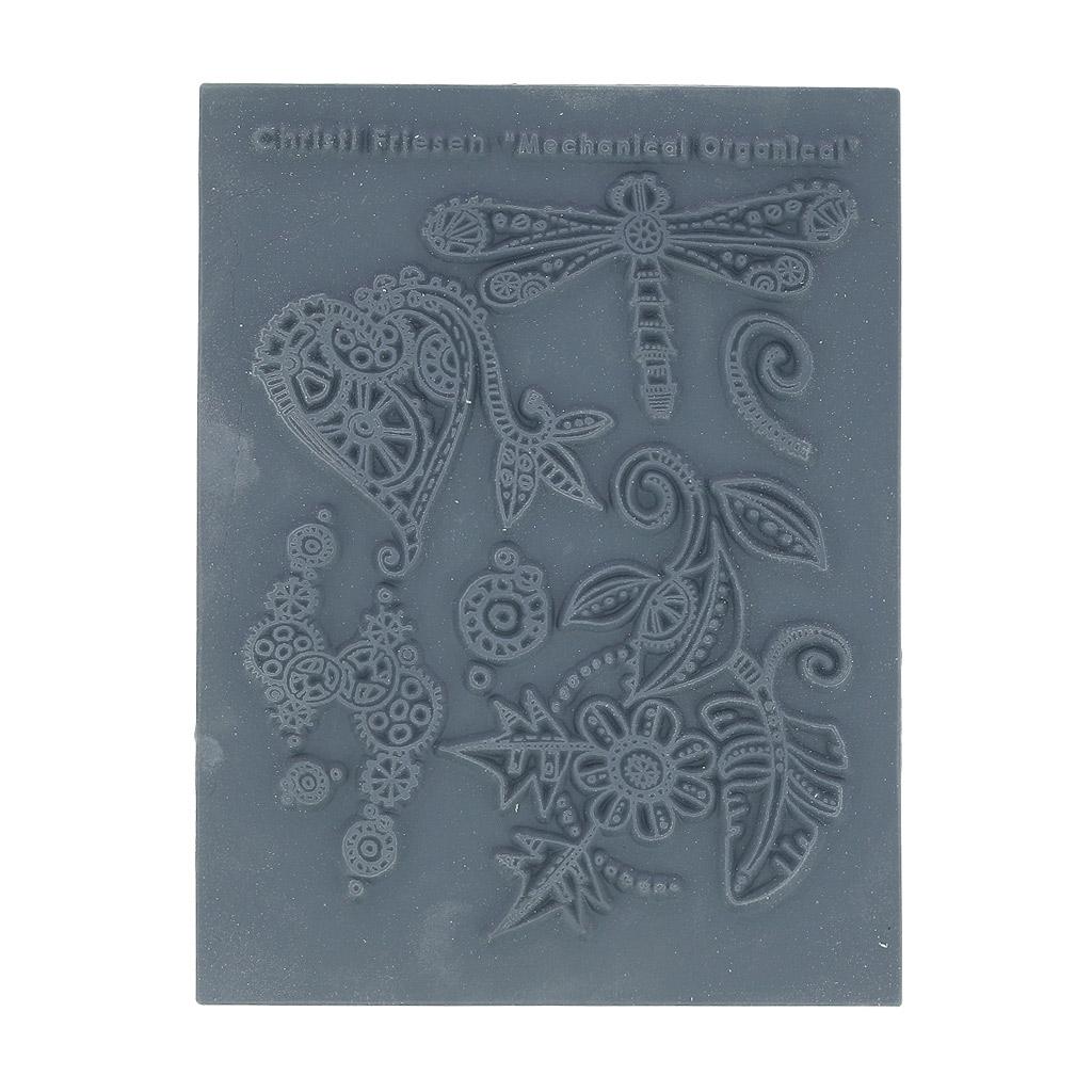 Christi Friesen Texture Stamps Mechanical Organical