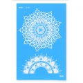 Silk Screen Moiko 74x105 mm - Mandala Design  2.01