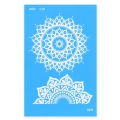 Silk Screen Moiko 74x105 mm - Mandala Design  2.02