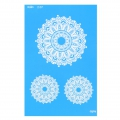 Silk Screen Moiko 74x105 mm - Mandala Design  2.07