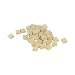 Artemio 30-Piece 20 mm Wooden Beads Beige
