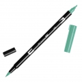 Tombow Dual Brush felt - Brush felts with a double tip Green ABT-296