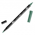 Tombow Dual Brush felt - Brush felts with a double tip Sea Green ABT-346