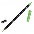 Tombow Dual Brush felt - Brush felts with a double tip Light Green ABT-195