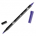 Tombow Dual Brush felt - Brush felts with a double tip Violet ABT-606