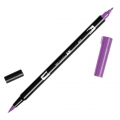 Tombow Dual Brush felt - Brush felts with a double tip Purple ABT-665