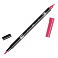 Tombow Dual Brush felt - Brush felts with a double tip Cherry ABT-815