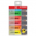 6 STABILO Boss original highlighters original Fluo