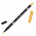 Tombow Dual Brush felt - Brush felts with a double tip Chrome Yellow ABT-985