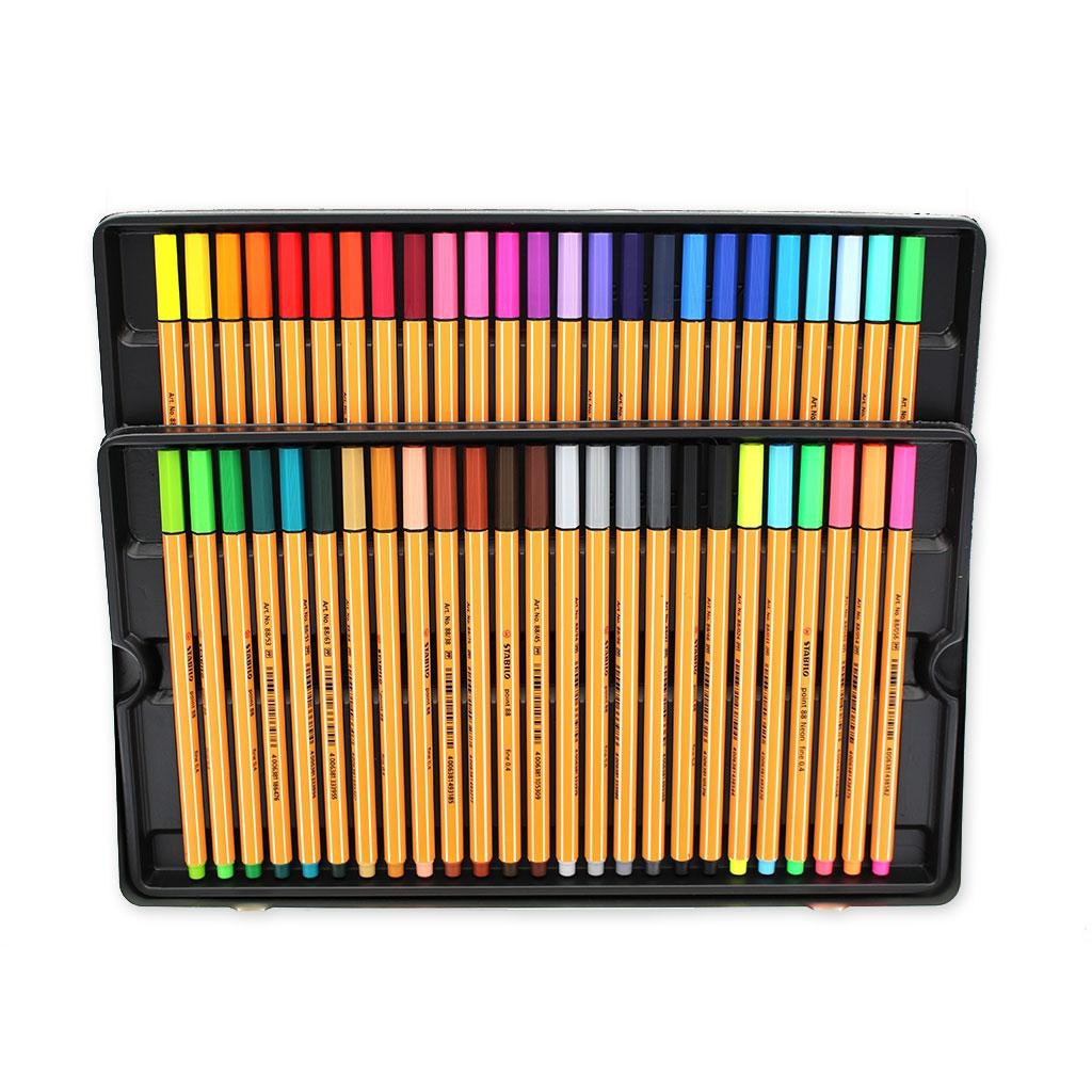 im 50 STABILO Point 88 felt pens fine tip 0