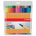 40 felt pens Point 88 STABILO fine tip 0.4 mm