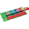 25 felt pens Pen 68 STABILO medium tip 1 mm Fan Edition + trousse