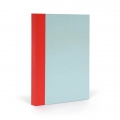 Notepad/Note Book for Bullet journal Fantasticpaper 15x20cm Sky blue/Coral