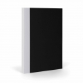 Notepad/Note Book for Bullet journal Fantasticpaper 15x20cm Black/Grey