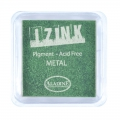 Inkpad Aladine Pigment Izink Metal Light Green (n°19131) x1