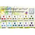 Glass beads Super-Khéops® by Puca® 6 mm Pastel Lila x10g