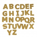 26 cork letters 40 mm Natural for creative leisure
