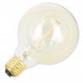 Globe retro light bulb for decorative suspension 135 mm 40W E27 x1