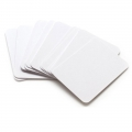Set of 100 cards 7.5x10cm White for Project Life DIY Album