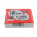 Polymer clay Kato Polyclay  56 gr Red (n°203)