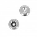 Rivet back Swarovski 53009 6 mm Rhodié x1