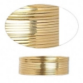 Gold Filled squarred Wire dead soft 0.90mm x1.5m
