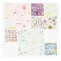 Poetry paper pad 21x30 cm Magical Summer Fluos x30 sheets