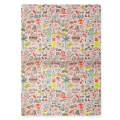Paper Patch Magical Summer 42x30 cm Cool Girl x3 sheets