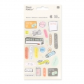 Assortment of 200 Stickers of Bureau Paper Poetry Magical Summer Organisation x1